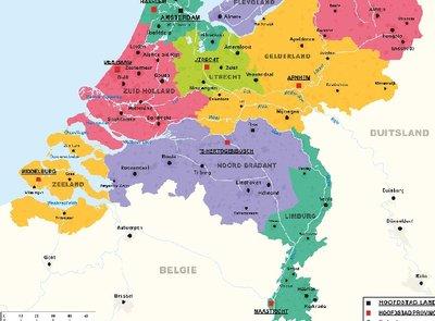 Afleverkosten: Brabant - Gelderland - Zeeland - Zuid Holland - Utrecht - Limburg
