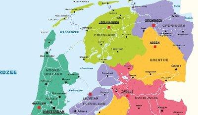 Afleverkosten: Noord Holland - Flevoland - Overijssel - Drente - Groningen - Friesland