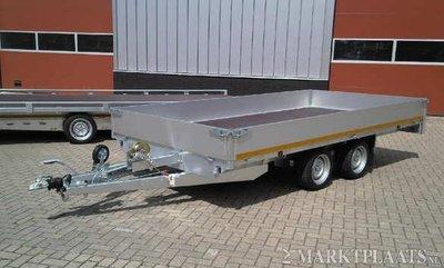 Eduard multitransporter - Laadvloer 63cm - 400x200cm - dubbelas - 2700kg