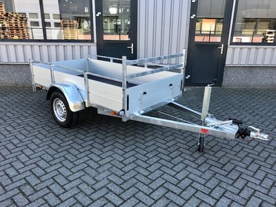 Anssems bakwagen BSX1350 - 251x130cm - enkelas