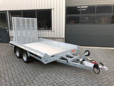 Hulco machinetransporter 294x150cm - 3500kg - dubbelas-